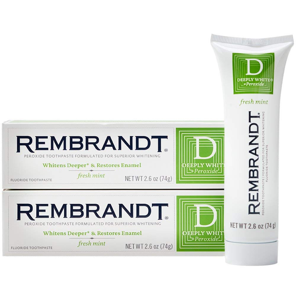 Rembrandt-Peroxide-Toothpaste