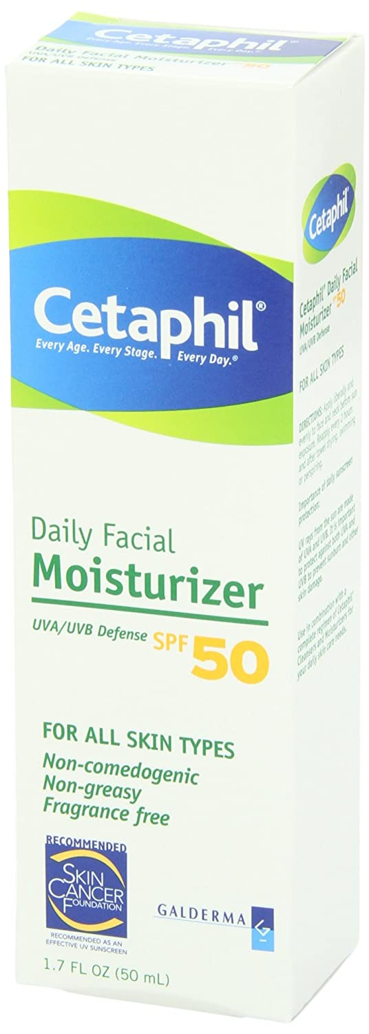 Cetaphil Daily Facial Moisturizer with Sunscreen SPF 50+